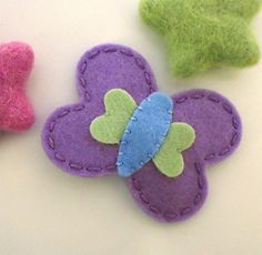 Hey, I found this really awesome Etsy listing at https://www.etsy.com/listing/163841845/no-slip-wool-felt-hair-clip-becky-the