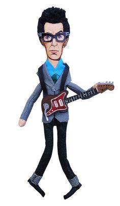 Elvis Costello (Art Dolls Premium) by MEDIODESCOCIDO