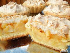 Aleda konyhája: Almás kosárkák kókusthabbal