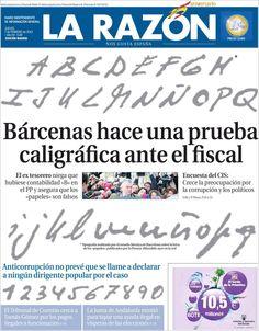 Los Titulares y Portadas de Noticias Destacadas Españolas del 7 de Febrero de 2013 del Diario La Razón ¿Que le parecio esta Portada de este Diario Español?