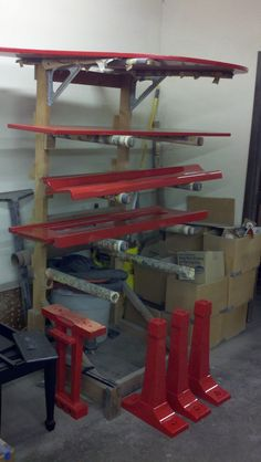Shoe Rack, Yamaha, Red, Home, Shoe Racks, Ad Home, Homes, Haus, Houses