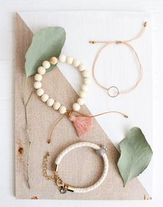This bracelet trio makes a super thoughtful gift! Baba Souk x Si Simple
