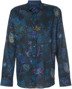 Etro dragonfly print shirt
