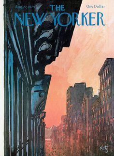 The New Yorker - Monday, August 27, 1979 - Issue # 2845 - Vol. 55 - N° 28 - Cover by : Arthur Getz
