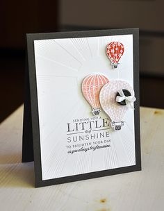 Sunshine & Balloons Card by Maile Belles for Papertrey Ink (June 2012)