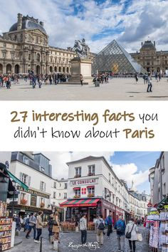 Did you know there are 5 Statues of Liberty in Paris? Or that the Eiffel Tower was meant to be built only temporarily? Cheap Travel, Budget Travel, Facts You Didnt Know, Paris, Statue Of Liberty, Fun Facts, Louvre, Europe, France