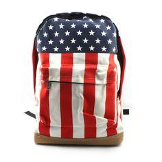 Cute Hot Canvas UK US England USA Flag Punk Backpack Shoulder Bag School Bag   eBay