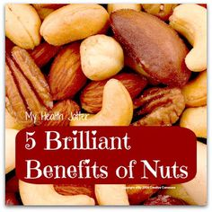 5 brilliant benefits of nuts @My Health Jotter #health