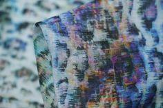 Tereo Blue - Blends - Tessuti Fabrics - Online Fabric Store - Cotton, Linen, Silk, Bridal & more