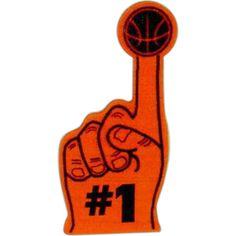 Basketball Cheer Mitts at  http://www.schoolspiritstore.com