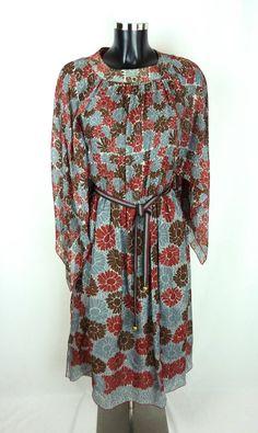 Robe LANVIN Vintage - Robe à fleurs vintage - Robe Lanvin à fleurs - Robe en 66daeededc9