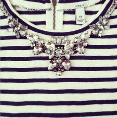 stripes & gems