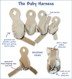 Diaper Harnesses for baby ducks to get them accustomed to wearing a diaper. Pet Ducks, Baby Ducks, Chicken Harness, Chicken Diapers, Duckling Care, Duck Diapers, Baby Harness, Raising Ducks, Raising Chickens