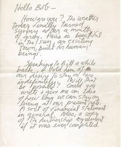 carta enviada por jim a un amigo desde paris