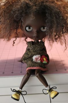 OOAK Custom Blythe Doll by PaisleyMaeDesigns on Etsy