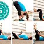 five post-run poses for better recovery