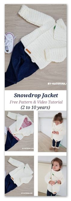 snowdrop cardigan