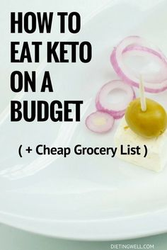 A ketogenic diet has tons of health benefits but it can be more expensive than a traditional carb-heavy diet. That said, it is entirely possible to eat keto on a budget. This guide will show you how to eat keto without breaking the bank.