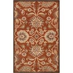 @Overstock - Hand-tufted in, wool this rug features colors of tea leaves, burnt sienna, bronze, cumin, camel, cinnamon spice, sepia, coffee bean, dark khaki, and desert sand. Its unique design will make this rug stand out in any home.http://www.overstock.com/Home-Garden/Hand-tufted-Green-Kiser-Wool-Rug-12-x-15/6764910/product.html?CID=214117 $1,639.99