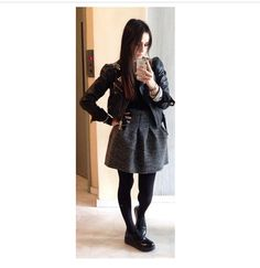 'nansoumou' in her Fashion Blogs, Skater Skirt, Skirts, Leather, Collection, Skater Skirts, Skirt, Gowns