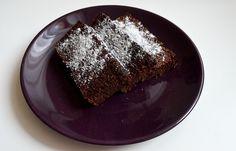 Brownie z batatów - Paleo, bezglutenowe, bez laktozy