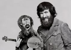 Jim Henson.     I just think it's incredibly touching that before his death in 1991...he made a Jim Henson muppet.