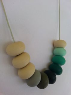 Maya - Chewable Nursing Teething Necklace  100 Non by BeadeeBaby, $32.00 https://www.etsy.com/shop/BeadeeBaby