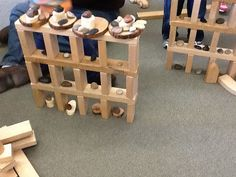"""Adding loose parts to the construction area ("""",)"""