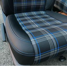 Car Interior Upholstery, Automotive Upholstery, Automotive Furniture, Automotive Design, Golf Mk1, Volkswagen Golf Mk2, Vw Mk1, Custom Car Interior, Car Interior Design