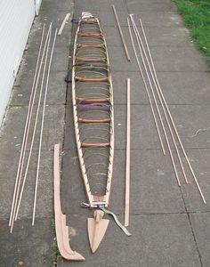 Kayak Boats, Canoe And Kayak, Fishing Boats, Wooden Kayak, Wooden Boats, Folding Canoe, Kayaks, Model Boat Plans, Wooden Boat Building