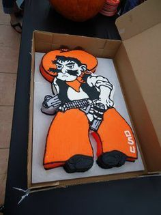 Oklahoma State Cowboys Birthday Cake Ideas  | osu