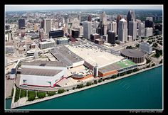 Joe Louis Arena with Cobo Center, Detroit | Flickr - Photo Sharing!