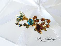 Sweet Pin/Brooch Made In by PegsVintageJewellery on Etsy