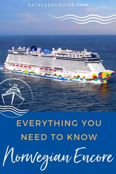 Norwegian Cruise Line has just released its largest and most innovative cruise ship to date! The new Norwegian Encore features some firsts at sea, including new dining and entertainment that you can not find on any other cruise ship. If you have not sailed on a ship of this size before, you might feel overwhelmed. That is why we have put together our latest video of the 20 Things You Need to Know Before Cruising on Norwegian Encore! #cruise #cruisetips #cruiseplanning #NCL #NorwegianEncore Best Cruise, Cruise Port, Cruise Travel, Cruise Vacation, Travel Usa, Vacation Ideas, Vacations, Travel Tips, Cruise Checklist