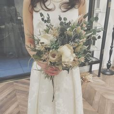 Discover recipes, home ideas, style inspiration and other ideas to try. Wedding Images, Wedding Themes, Wedding Decorations, Dried Flower Bouquet, Dried Flowers, Wedding List, Dream Wedding, Natural Bouquet, Bridal Flowers