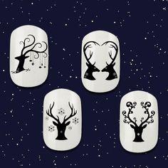 Christmas Deer Nail Decals