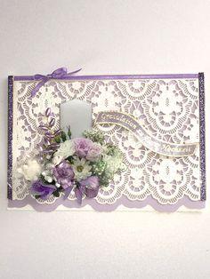 Hochzeitskarten - Karte zur Hochzeit Nr. 580 - ein Designerstück von MM-Bastelparadies bei DaWanda Etsy, Paper Mill, Newlyweds, Invitations, Crafting
