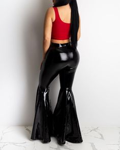 Bell Bottom Pants, Bell Bottoms, Only Jeans, Belted Shorts, Elastic Waist Pants, Black Trousers, Drawstring Pants, Wholesale Fashion, Flare Pants