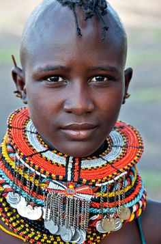 girl at the river, Africa.girl at the river, Africa. African Tribes, African Women, We Are The World, People Around The World, Beautiful World, Beautiful People, African Culture, Portraits, Interesting Faces