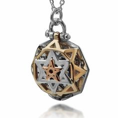 Kabbalah Jewelry Necklace 5 Metals Tikun Hava Pendant Protection Prosperity