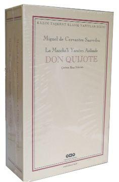 don quijote  2 cilt takim  - cervantes - yapi kredi yayinlari  http://www.idefix.com/kitap/don-quijote-2-cilt-takim-cervantes/tanim.asp