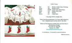 Image detail for -Christmas Design Smocking Plates --- Page 1 of 3