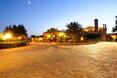 Villa Dafne in notturna