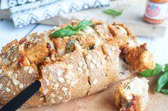 Tapas, Pesto, Healthy Recipes, Bread, Chicken, Mozzarella, Foods, Food Food, Food Items