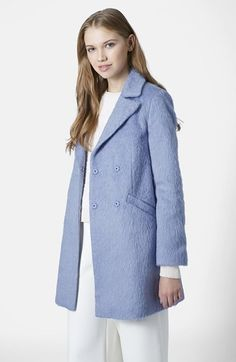 Topshop 'Molly' Double Breasted Swing Coat  $170.00$59.49