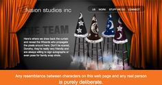 The Team page Fusion Studios Team Page, Dont Be Scared, Web Design Inspiration, Studios, Poses, Website, Movie Posters, Figure Poses, Film Poster