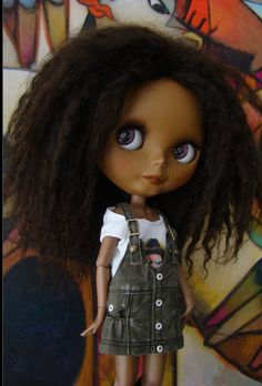 Blythe -- she reminds me of Rue from the Hunger Games
