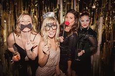 Brides: This Dallas, Texas Wedding at Two Epic Venues Will Blow You Away: Photos New Years Eve Weddings, Black Tie Wedding, Wedding Attire, Formal Wear, What To Wear, Brides, Halloween Face Makeup, Glamour, Winter Weddings