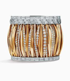 Tiffany & Co. Blue Book Collection 2017, The Art of the Wild ~ Gold and Diamond Bracelet