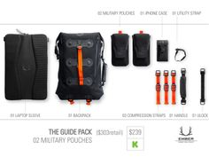 ember equipment modular urban pack kickstarter vysual